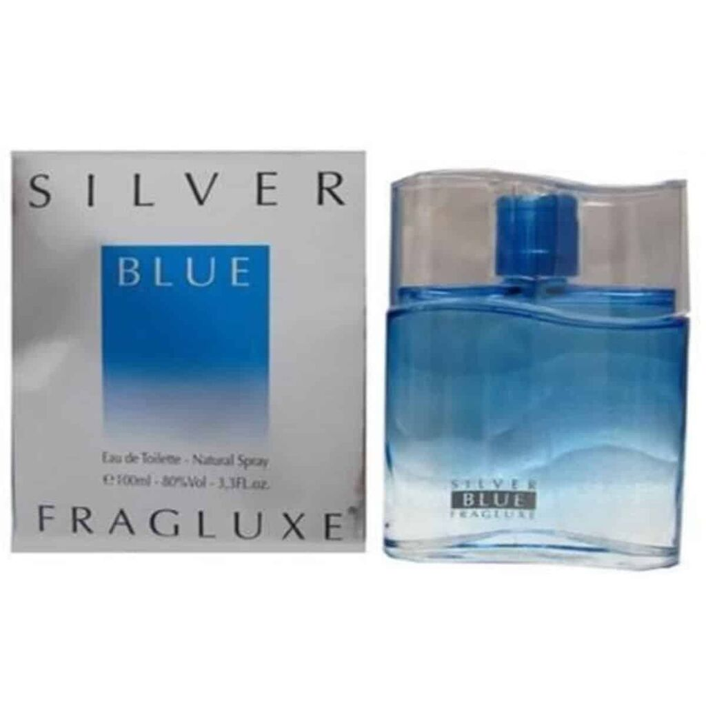 Perfume Fragluxe Silver Blue Edt 100Ml