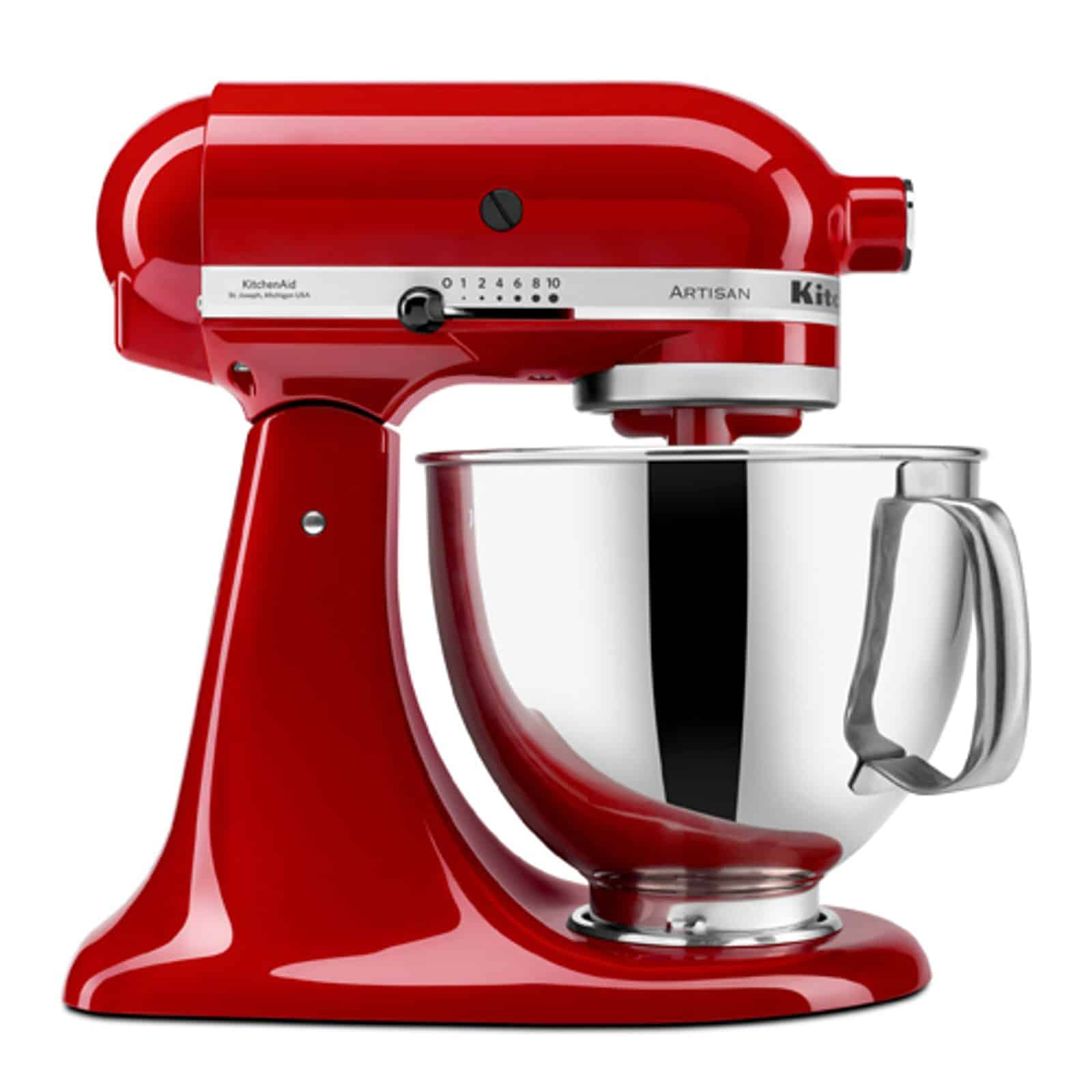 Batedeira Stand Mixer Artisan – Empire Red – 110V