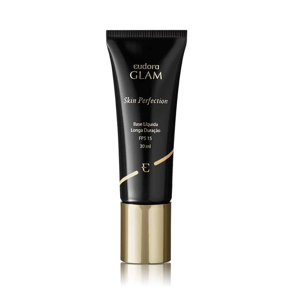 Base Líquida Glam Skin Perfection Bege Claro 30ml