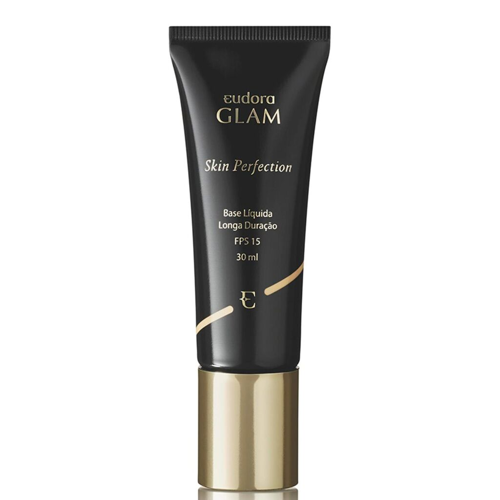 Base Líquida Glam Skin Perfection Bege Escuro 1 30ml
