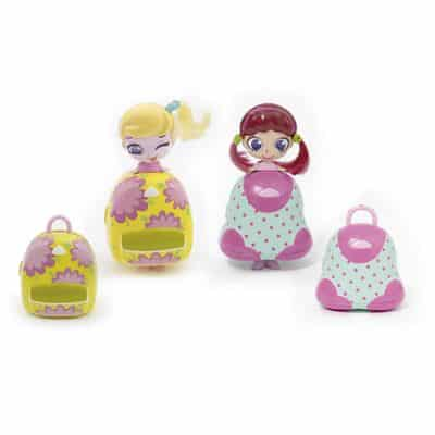 Mini Bonecas e Bolsinha Make Up – Kekilou – Double Blister – Candide
