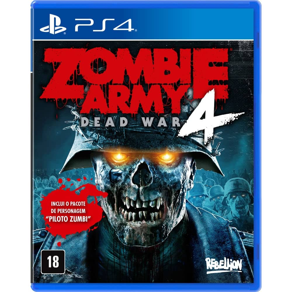 JOGO ZOMBIE ARMY 4: DEAD WAR – DAY ONE EDITION – PS4 por R$ 179,00