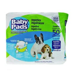 Tapete Higiênico Baby Pads - 50 Unidades